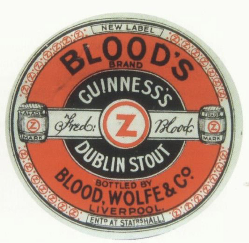 Guinness Singapore Blood Wolf label